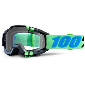 100% Accuri Anti Fog Clear Goggles grøn/sort